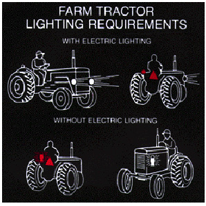 Farm Tractor Lighting Illustrated examples