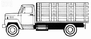 illustration of farm vehicles