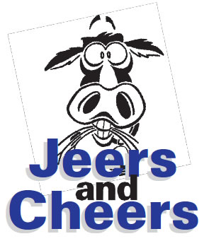 Jeers and Cheers