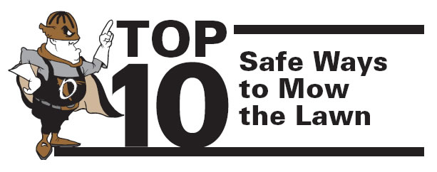 Top 10 Safe Ways to Mow the Lawn