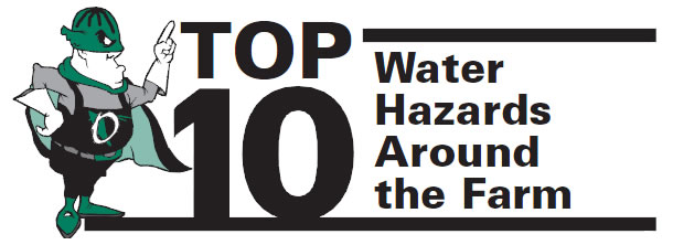 Top 10 Water Hazards Around the Farm