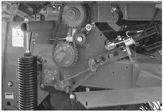 close up of machinery