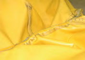 photo: failed jacket seam