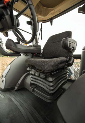 Photo of a Tractor seat and interior