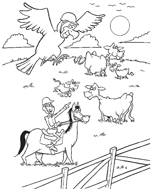 coloring page for helmet safety