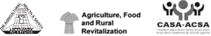 Logos: CASA, Agriculture, food, and rural revitalization, The agricultural health and safety network