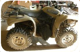 This is a picture of the all-terrain vehicle.