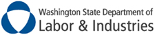 Washington state department of labor and indursties logo and Washington FACE report logo