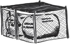 fuel tanks in cages
