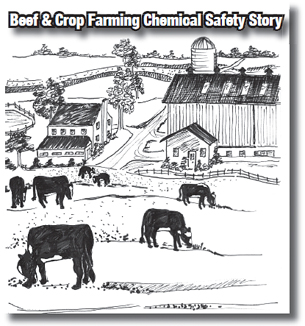 Beef and crop farming chemical safety story
