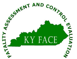 Fatality assessment and control evaluation logo for KY FACE