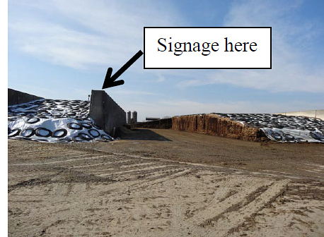 Figure 5. Possible signage location